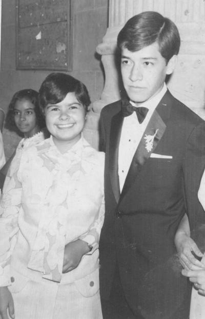 29042018 Luz Elena Mora y Javier Verdeja en 1970.