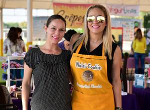Claudia Montemayor y Claudia Estrada