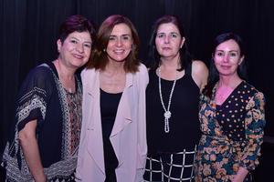 Ana Maria  Lula  Leticia y Maricarmen