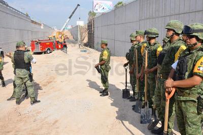 Al lugar acudieron efectivos del Ejército.