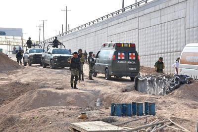 Personal de la Dirección de Protección Civil Municipal y del departamento de Bomberos acudieron a brindar apoyo en la emergencia, así como elementos de la Dirección de Seguridad Pública Municipal y de Fuerza Coahuila .