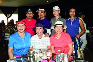05052018 ENTRE AMIGAS.  Lidia Dewey, Silvia Figueroa, Diana Ochoa, Balbina Garza, Anita Romo, Janeth Herrera y Tony Uregti.