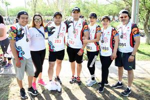 05052018 PARTICIPAN EN CARRERA.  Irvin, Gaby, Antonio, Fabián, Ana, Yesy y Óscar.
