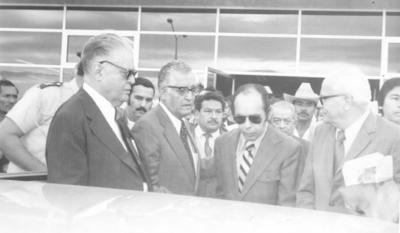 06052018 Fidel Velázquez, Leobardo Flores, Mariano López y Blas Chumacero en el Aeropuerto Francisco Sarabia.