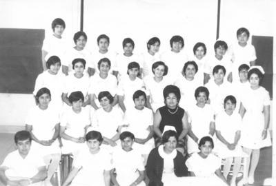 06052018 Estudiantes de Enfermeria de la Cruz Roja en 1972.