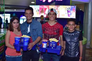 07052018 Michelle, Luis Armando, José Ángel y Jorge Andrés.