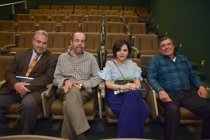 06052018 PRESENTACIóN DE LIBRO.  Fernando, Heberto, Marcela y Luis.