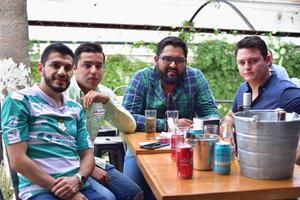 06052018 Martín, Miguel, Julio y Fernando.