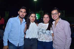 06052018 Alberto, Yadanara, Viridiana y Sebastián.