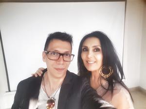 07052018 SELFIE.  Pineda Damián y Geraldina Herrera.