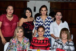 03052018 Guadalupe, Margarita, Guadalupe, Estela, Delty, Xóchitl y Aurora.