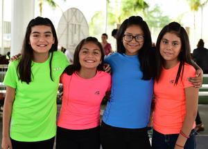 03052018 Paola, Fernanda, Melissa y Jacqueline.