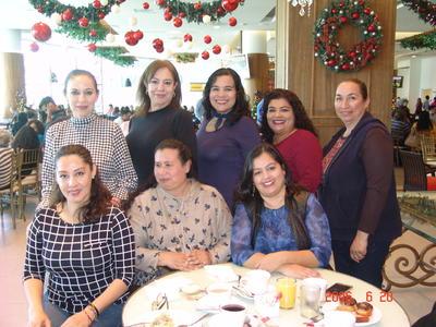 10052018 Oly, Sandra, Rosy, Oli, Elsa, Alma, Antonieta y Gaby.
