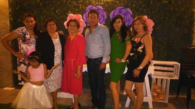 10052018 En el festejo de Guadalupe López Álvarez