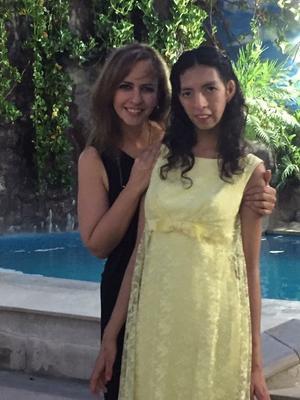 10052018 Lorena Arellano con su hija, Sofía Mancillas Arellano.