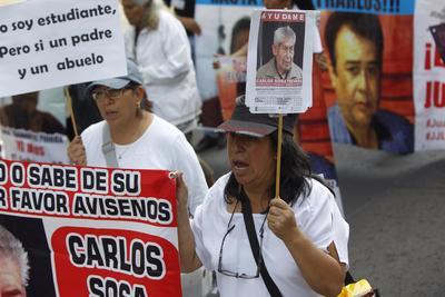 ONGs respaldaron a las madres de los desaparecidos.