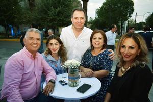 11052018 Rubén, Andrea, Carlos, Maru y Daniela.