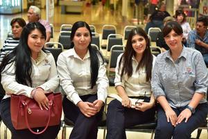 12052018 Yazmín, Lupita, Any y Roxana.