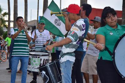 Desde temprano se vivió un ambiente de fiesta en el Paseo Morelos.