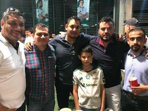 13052018 EN EL TSM.  Servando Herrera, Héctor Giacomán, Armando Arredondo y su hijo, Carlitos, Pablo Talamantes y Christian Giacomán.