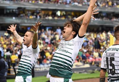 Santos logró 'silenciar' el Azteca y se confirmó como finalista del Clausura 2018.
