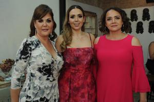 Margarita Galindo  Marian Aguilera Galindo y Patricia Orozco