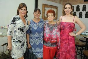 Margarita Galindo  Marina Torano  Maria Elena de Torano y Marian Aguilera