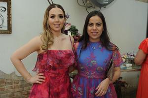 Marian Aguilera y Olivia de Anda Miranda