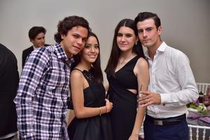 David  Susy Adriana y Jose Pablo