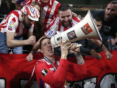 El partido que tuvo lugar en Lyon, Francia se transmitió en el estadio Wanda Metropolitano, en Madrid.