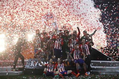 El Atlético de Madrid se impuso 0-2 ante el Olympique de Marsella en el estadio Parc Olympique Lyonnais.