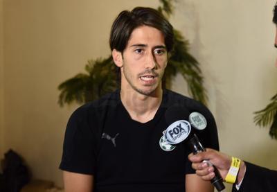Javier Abella atendió a los medios de comunicación previo al encuentro.