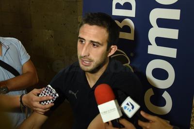 El capitán de Santos Laguna, Carlos Izquierdoz, no pudo contener la emoción y soltó lágrimas tras su declaración por estar nuevamente en una final.
