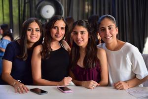 17052018 Daniela, Andrea, Xcaret y Nazira.