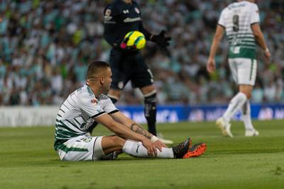 Jonathan Rodríguez no vio anotación con su firma durante el partido.