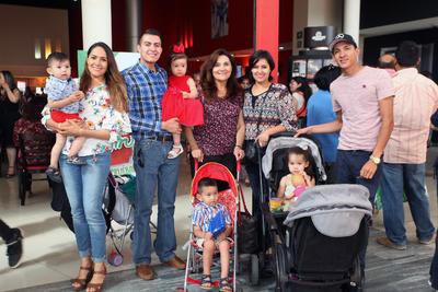 Familia Jiménez Mier.