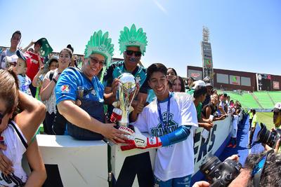 Los Guerreritos se alzaron con el título Sub-17.