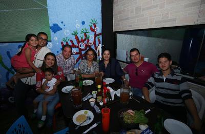 Familia Parra Ocaña.