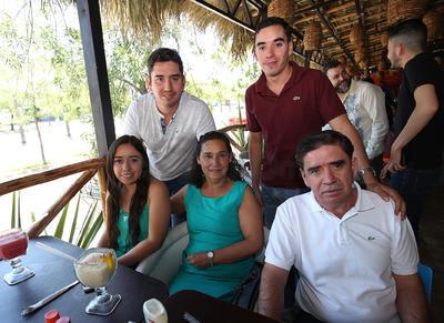 Familia Márquez Vera.