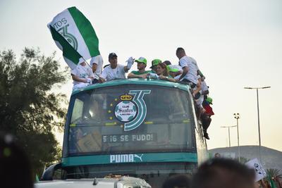 Desde Lerdo hasta Torreón se escuchó Santos campeón.