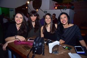 22052018 Karen López, Jess Du Mora, Elisa Guajardo e Irene Ramírez.