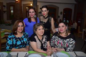 22052018 Daniela, Vanessa, Ana, Bertha y Andrea.