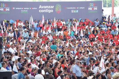 El primer evento masivo fue en la velaria de la Expo Feria de Gómez Palacio.