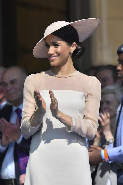 La duquesa Rachel Meghan Markle ya cuenta con su perfil en la página oficial de la familia real.