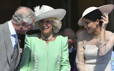Más de 6,000 personas de organizaciones benéficas apoyadas por el príncipe Carlos y su esposa, la duquesa de Cornualles, se dieron cita en este evento.