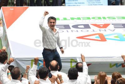 Mery Ayup brindó propuestas a los simpatizantes de la alianza Todos por México
