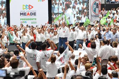 El candidato priísta a la Presidencia, José Antonio Meade, realizó una gira por La Laguna.
