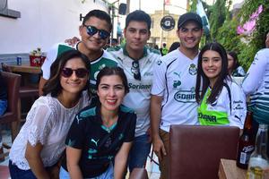 23052018 Héctor, Luis, Salvador, Sara, Mónica y Natalia.