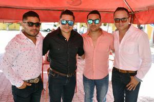 24052018 Fabián, Iván, David y Carlos.