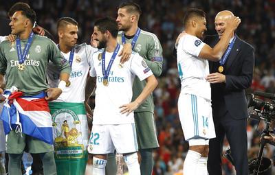 Es la tercera Champions League de manera consecutiva.